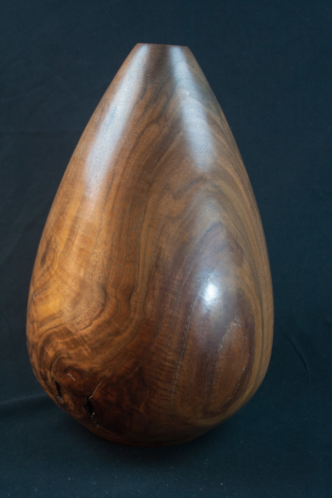 150B Black Walnut Hollow Form 8 x 11.5........$379