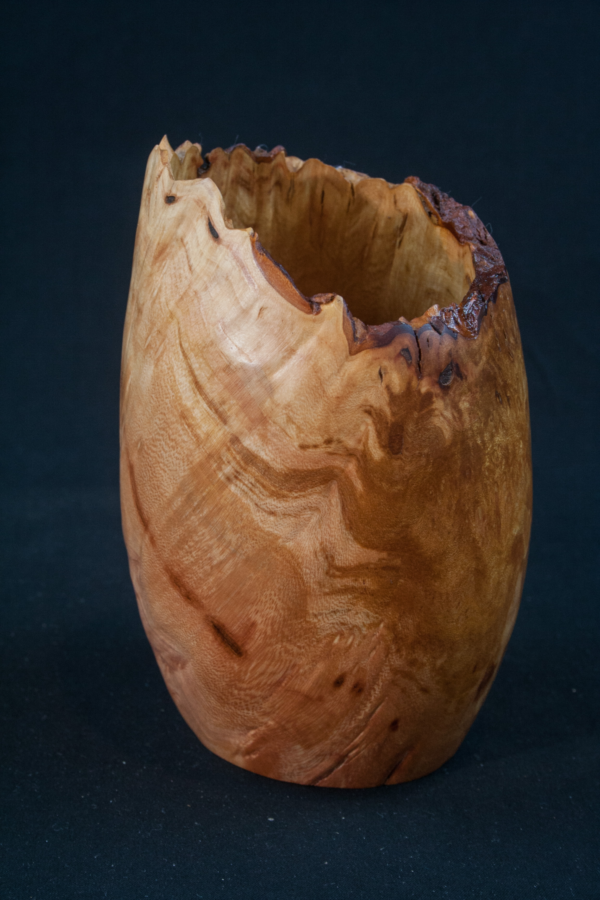 83 Madrone Burl Natural Edge Distorted 3,5 x 5.......  $34......SOLD