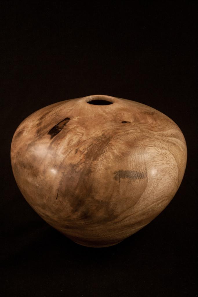 198B Mango Hollow Form Vessel 10  x 7.5......$498